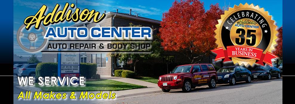 Addison Auto, Serving Denver For 35yrs